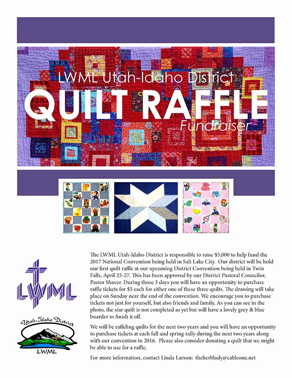 Raffle Ticket Samples for Fundraisers Best Of Quilt Raffle Flyer and Tickets for Fundraiser On Behance