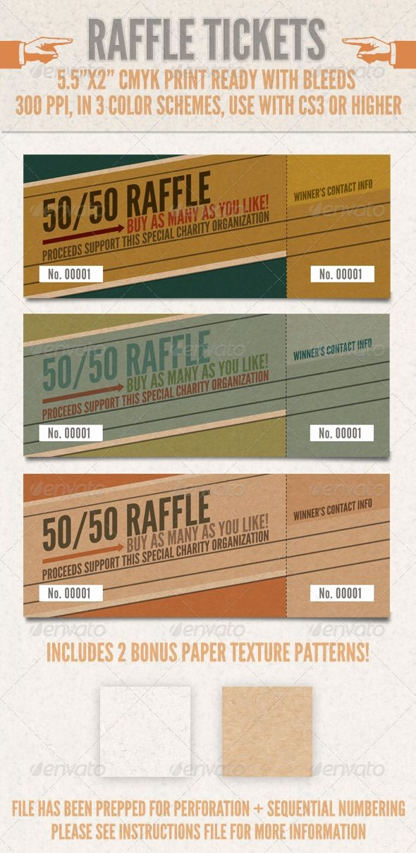 Raffle Ticket Samples for Fundraisers Elegant 10 Best Images About Raffle Ticket Templates & Ideas On