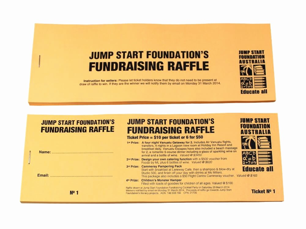 Raffle Ticket Samples for Fundraisers Unique Bud Raffle Tickets