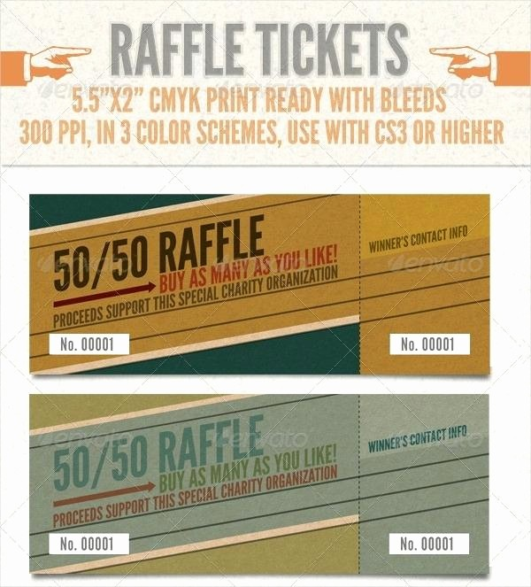 Raffle Ticket Samples for Fundraisers Unique Picture Perfect Single Prize Raffle Ticket Template