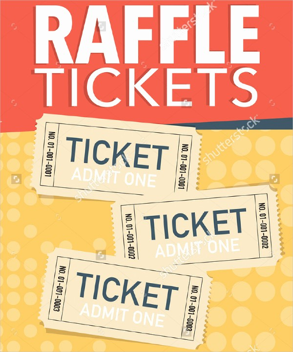 Raffle Ticket Samples Templates Free New Printable Raffle Ticket Template 18 Free Word Excel