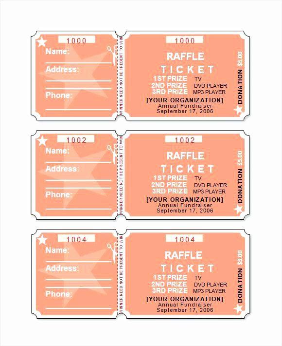 Raffle Ticket with Stub Template Elegant Raffle Stubs Ticket Stub Sample – Stormcraft