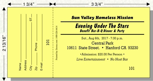 Raffle Ticket with Stub Template New Raffle Ticket Size B by Jforms Perforated and Numbered
