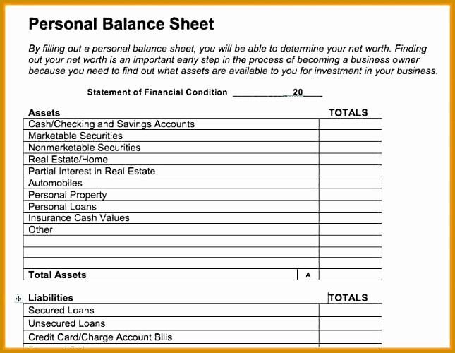 Real Estate Balance Sheet Example Beautiful 7 Real Estate Balance Sheet Template