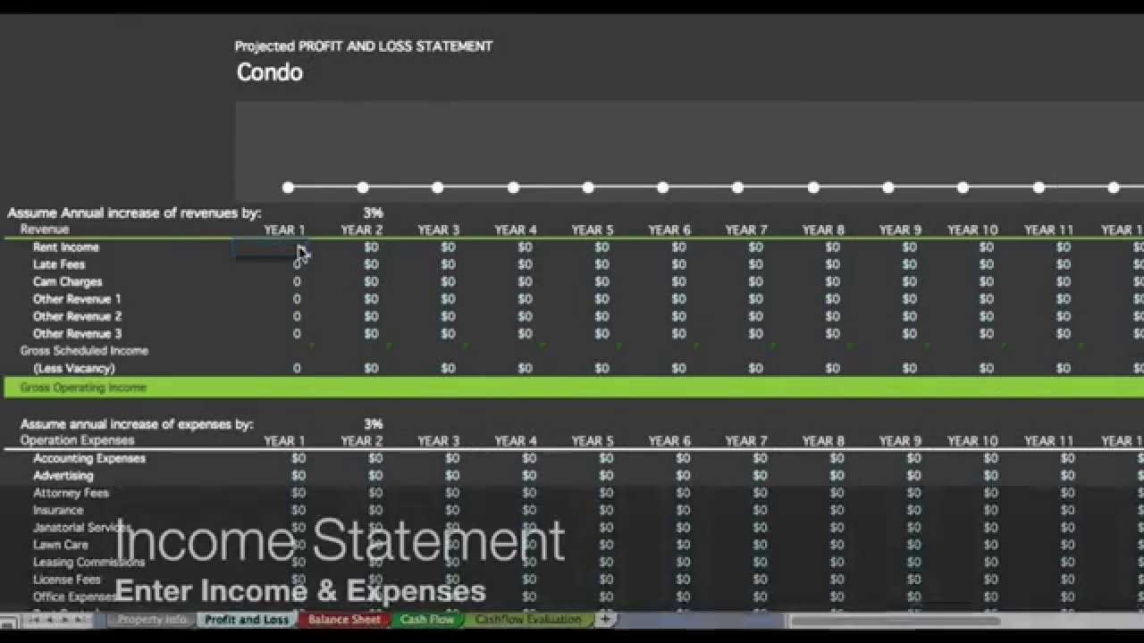 Real Estate Balance Sheet Template New Investment Property Spreadsheet Real Estate Spreadsheet