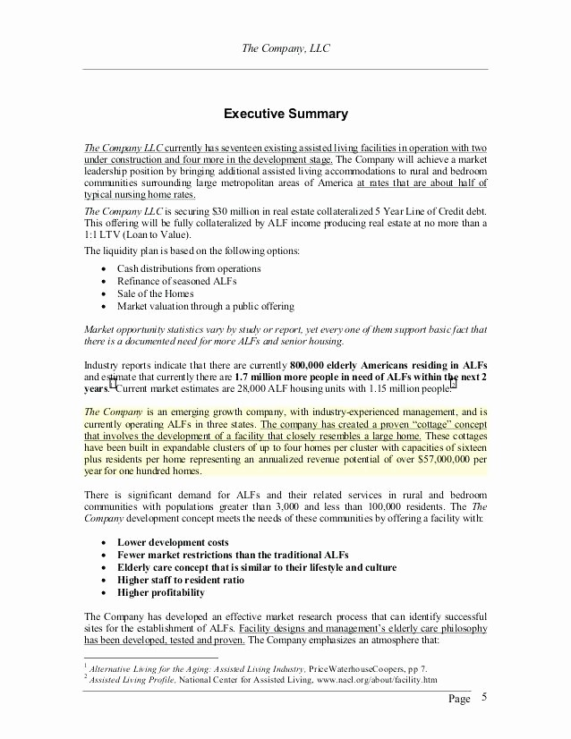 Real Estate Executive Summary Template Beautiful Construction Business Plan Template Free Word Excel