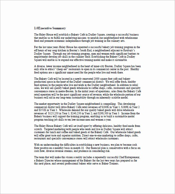 Real Estate Executive Summary Template Unique Marketing Plan Executive Summary Template 16 Free Pdf