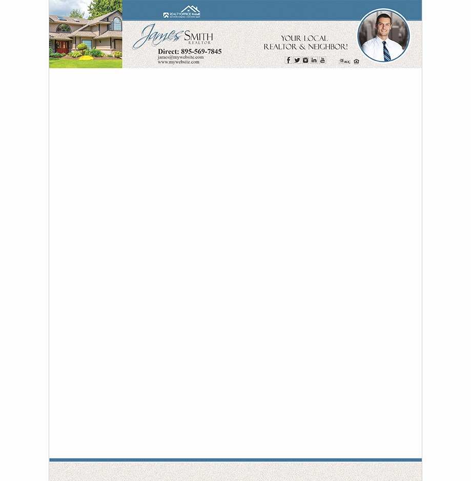 Real Estate Letterhead Templates Free Awesome Real Estate Letterhead Templates Free