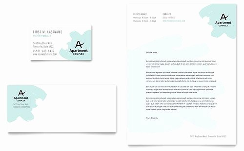 Real Estate Letterhead Templates Free Best Of Apartment Letterhead Template Download