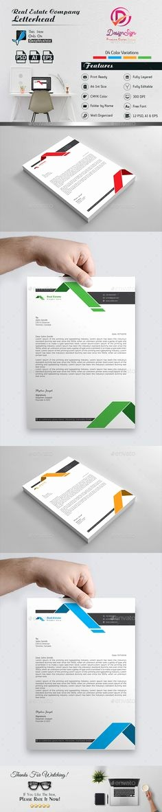 Real Estate Letterhead Templates Free Elegant Letterhead the Free Encyclopedia