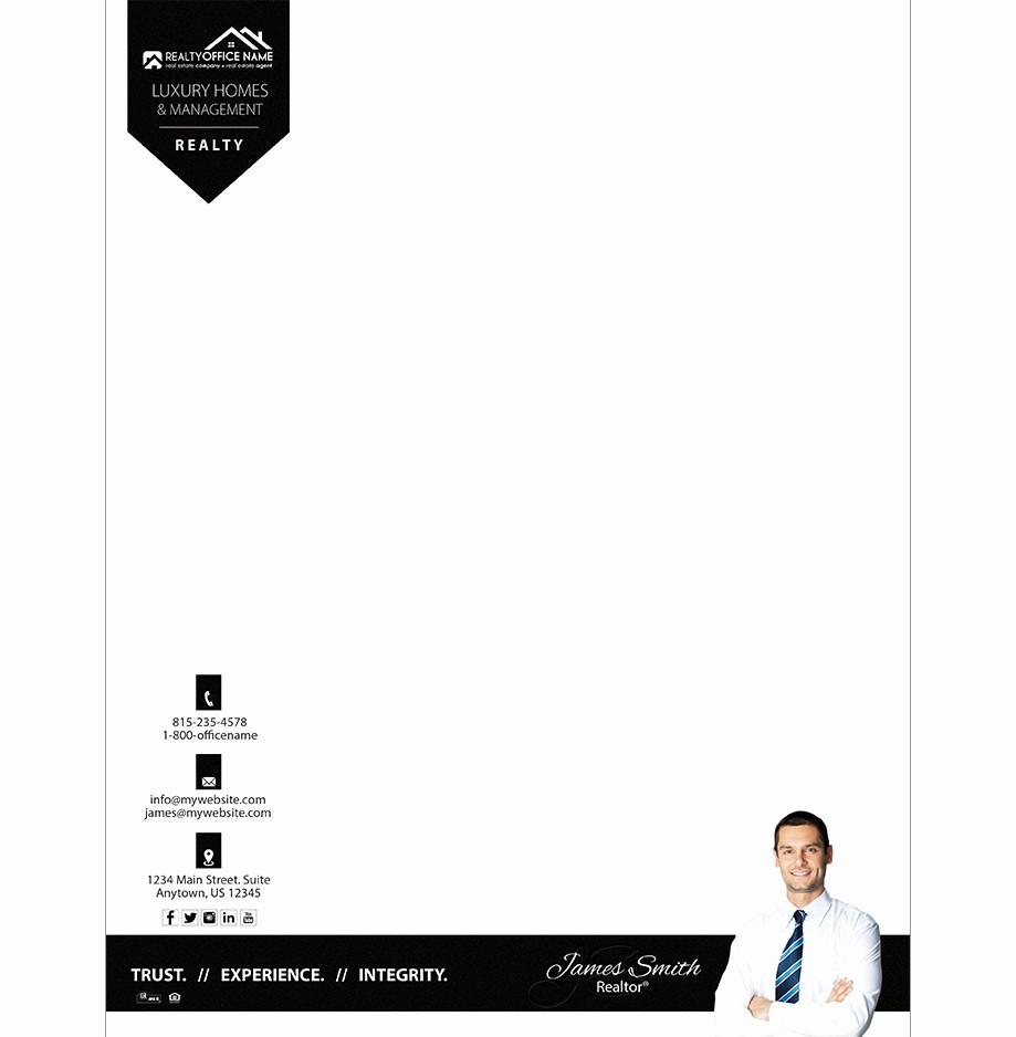 Real Estate Letterhead Templates Free Fresh Real Estate Letterhead Template