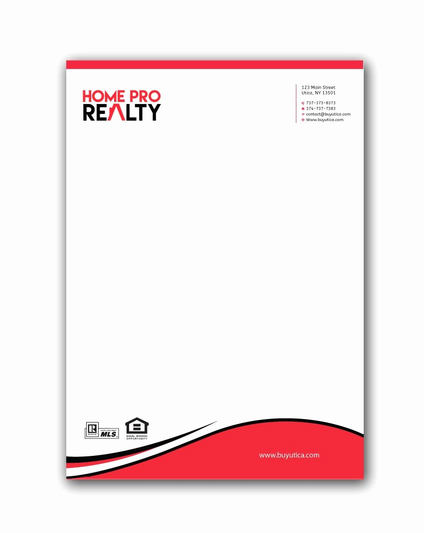 Real Estate Letterhead Templates Free Lovely Real Estate Letterhead Real Estate Letterhead Zazzle