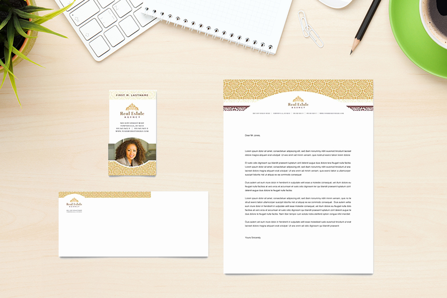 Real Estate Letterhead Templates Free Luxury 20 Best Real Estate Letterhead & Stationery Templates