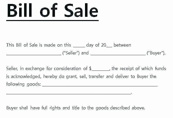Receipt for Car Sale Private Lovely Private Car Bill Sale Template Bill Sale Template