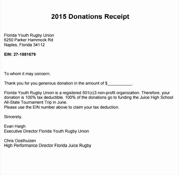 Receipt for Non Profit Donation Beautiful Non Profit Donation Receipt Free to Download Non Profit