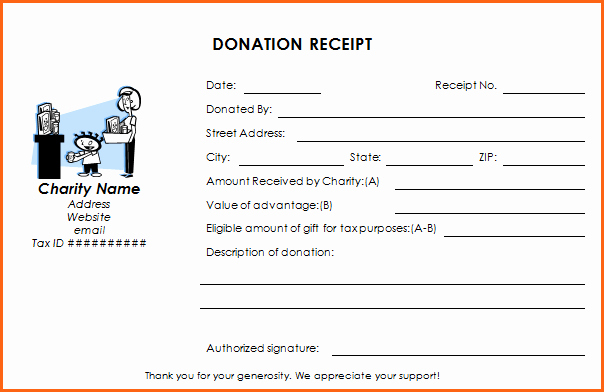 Receipt for Non Profit Donation Beautiful Ultimate Guide to the Donation Receipt 7 Must Haves & 6