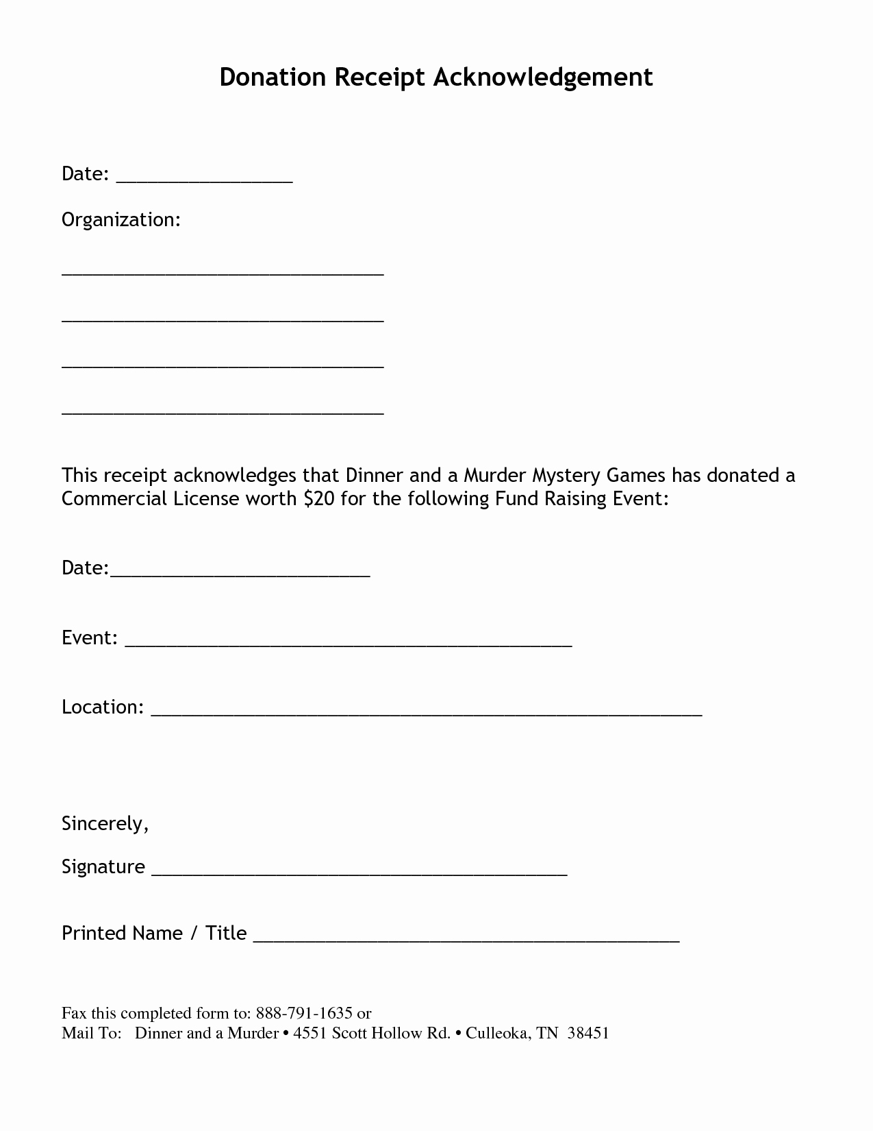Receipt for Non Profit Donation Best Of Non Profit Donation Receipt Letter