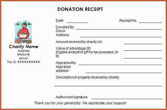 Receipt for Non Profit Donation New 7 Church Donation Receipt Template Bud Template Letter
