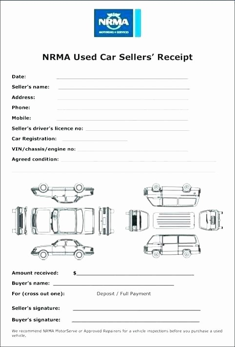 Receipt for Purchase Of Car Best Of Car Sales Receipt Car Sales Invoice Interesting Ideas