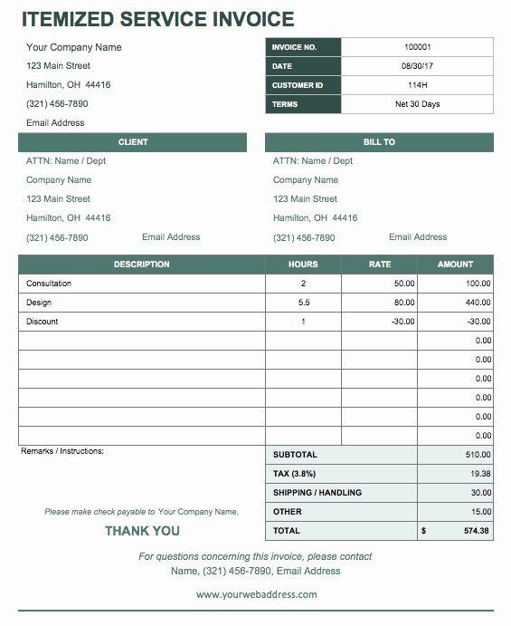 Receipt for Services Template Free Awesome 13 Free Business Receipt Templates Smartsheet