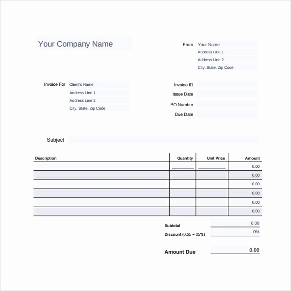 Receipt for Services Template Free Awesome 9 Sample Service Receipt Templates