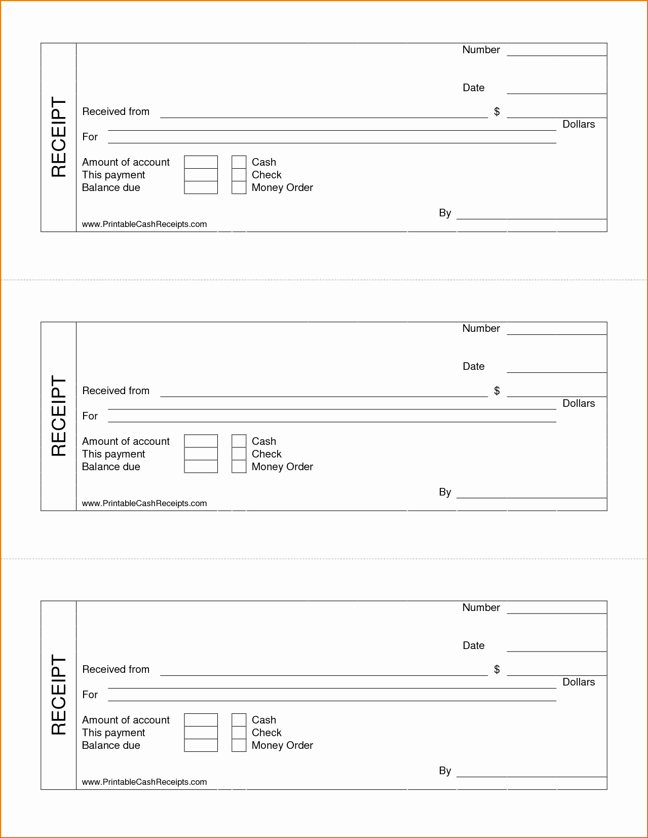Receipt for Services Template Free Elegant Printable Receipt for Services