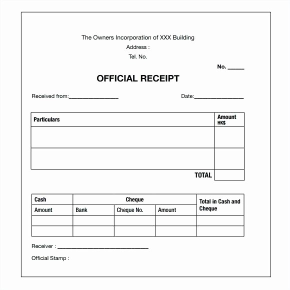 Receipt for Services Template Free Unique Sample Receipt for Services Rusinfobiz