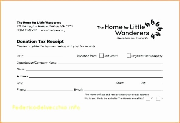 Receipt for Tax Deductible Donation Lovely Tax Deductible Donation Receipt Template Using the and Its