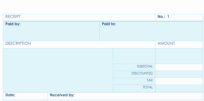 Receipt format for Payment Received Best Of 8 Payment Receipt Templates for Any organization