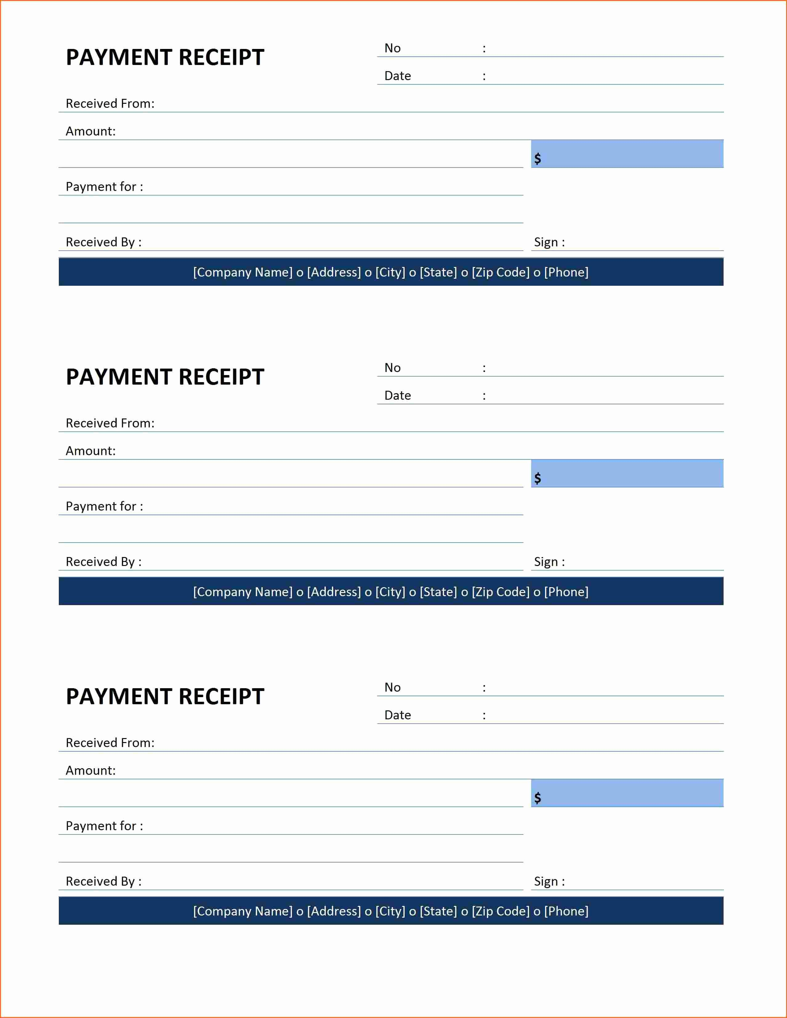 Receipt format for Payment Received Fresh 5 Template for Payment Received Bud Template Letter