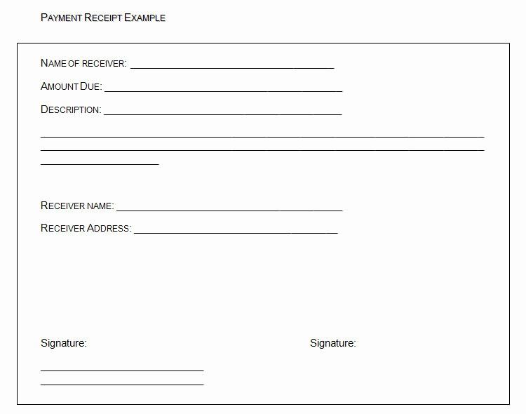 Receipt format for Payment Received Unique 40 Payment Receipt Templates Doc Pdf
