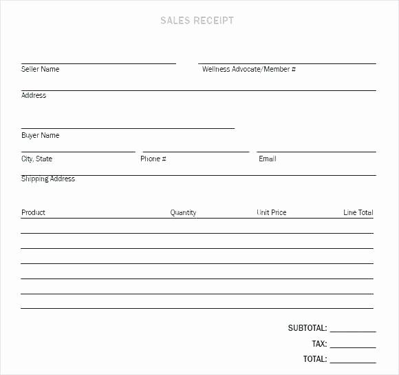 Receipt Of Sales for Car Unique Car Receipt Sale Vehicle Sale Template Car Sale Receipt