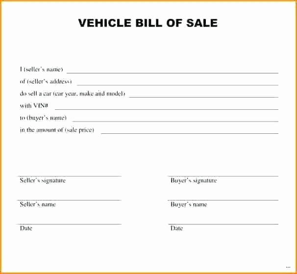 Receipt Template for Car Sale Inspirational Used Car Sale Receipt Auto Sale Sales Receipt for Used Car