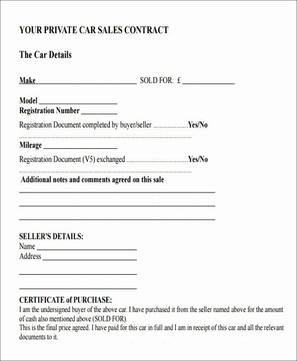 Receipt Template for Car Sale Lovely 9 Car Payment Receipts