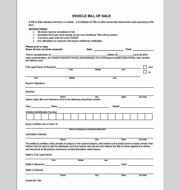 Receipt Template for Car Sale Lovely Receipt Template for Vehicle Sales Sample Of Vehicle