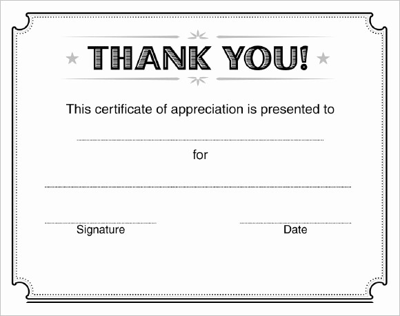 Recognition Certificate Templates Free Printable Elegant 21 Certificate Of Appreciation Templates – Free Samples