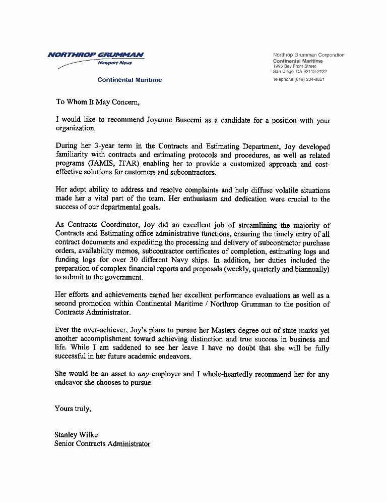 Recommendation Letter for An Employee Elegant Re Mendation Letter Previous Employer