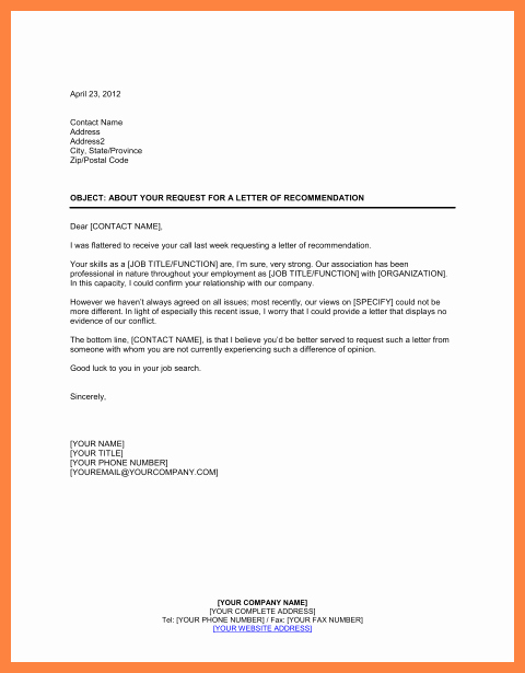Recommendation Letter for Job Reference Inspirational 8 Pany Letter Of Re Mendation Sample