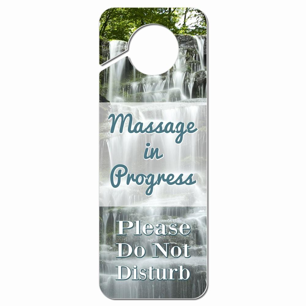 Recording In Progress Door Sign Luxury Do Not Disturb Plastic Door Knob Hanger Sign Massage In
