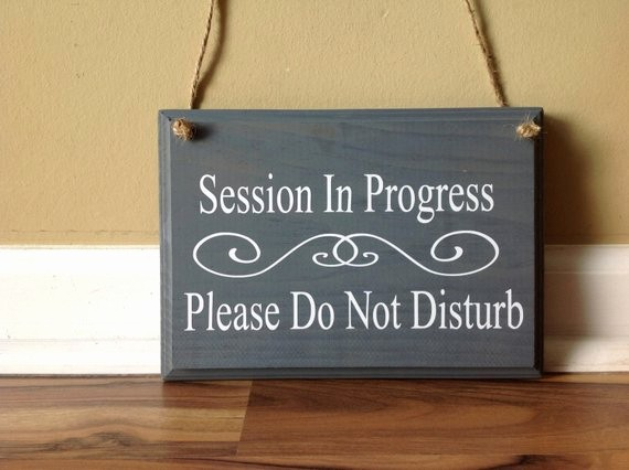 Recording In Progress Door Sign New 96 Amazon Session In Progress Sign Fice Business