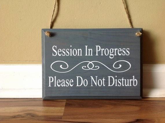 Recording In Progress Door Sign New 96 Amazon Session In Progress Sign Fice Business