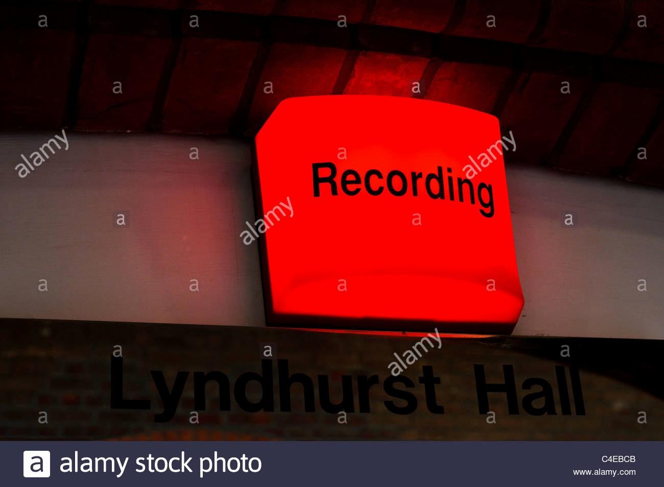 "Recording In Progress Door Sign Unique A ""recording In Progress"" Red Light Lit About the Door"