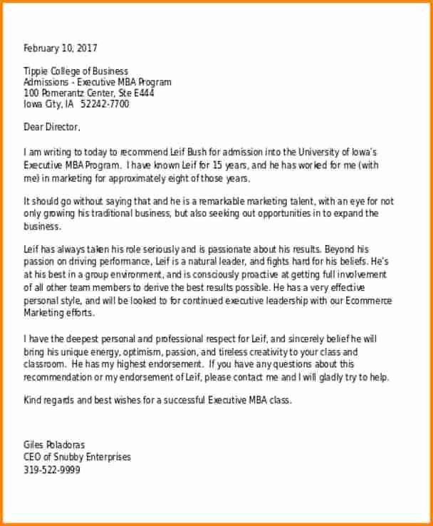 Reference Letter for College Admission Elegant 8 Re Mendation Letter for College Admission Sample