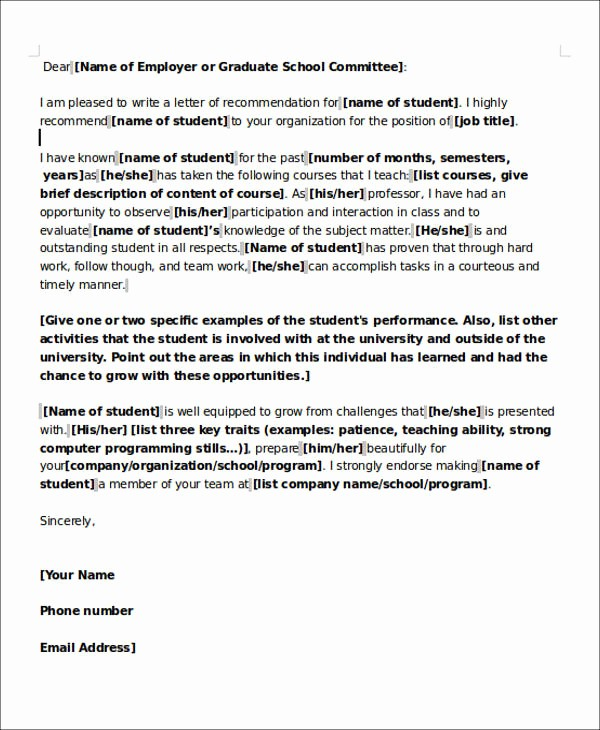 Reference Letter for Teaching Job Awesome 6 Sample Teaching Position Re Mendation Letters