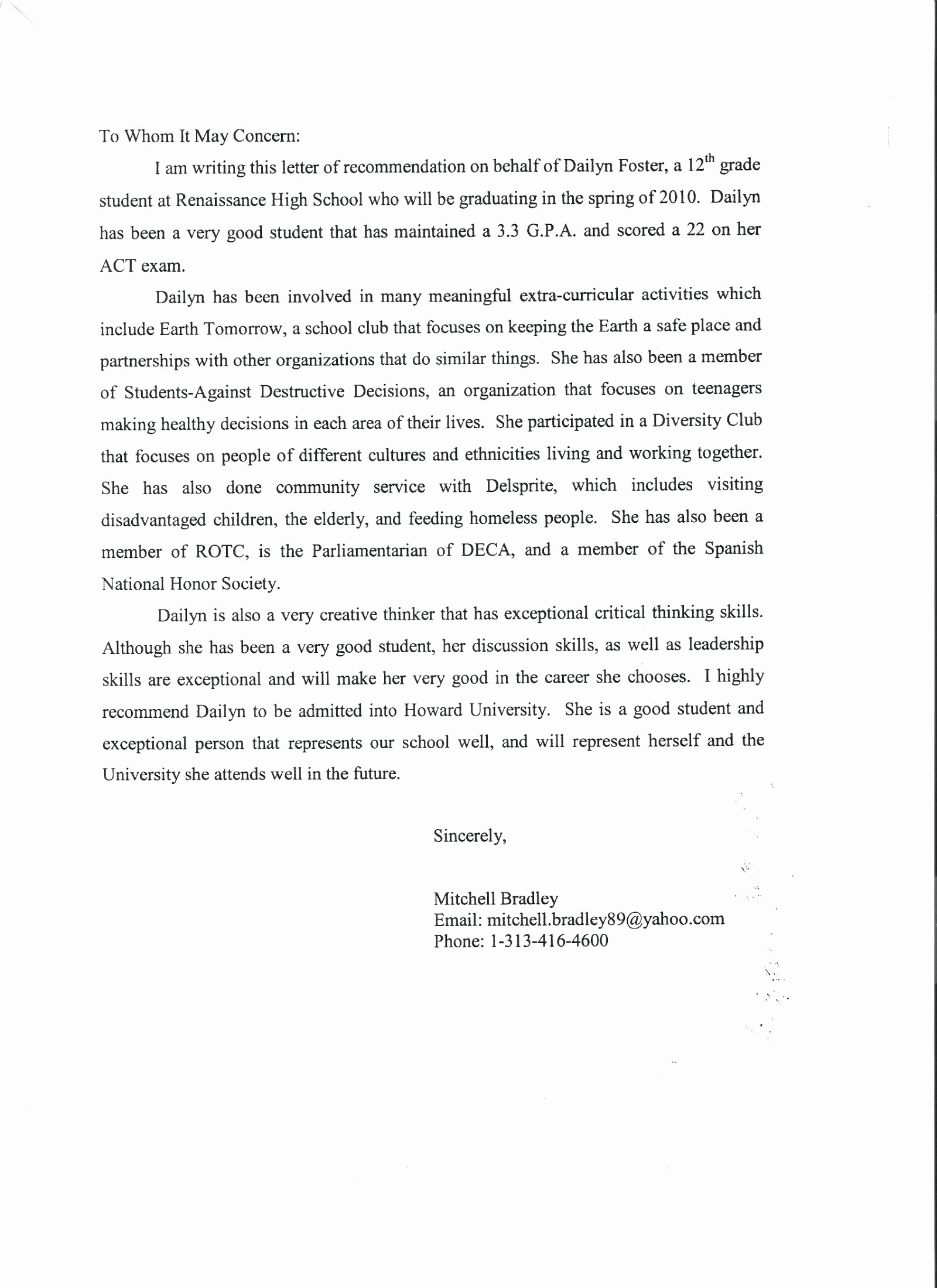 Reference Letter for Teaching Job New Printable Letter Re Mendation for Teaching Position