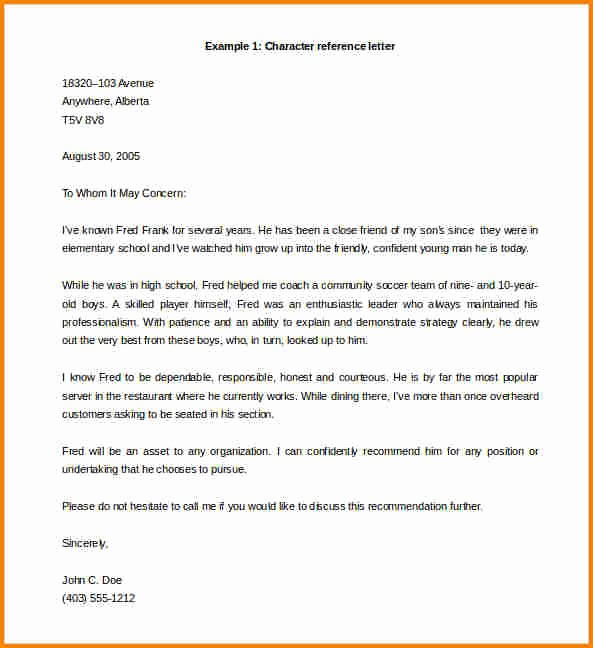 Reference Letter From Employer Doc Unique 10 Templates for Letters Of Re Mendation for Employee