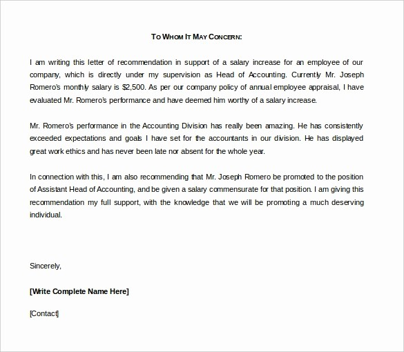 Reference Letter Template From Employer Elegant 42 Reference Letter Templates Pdf Doc