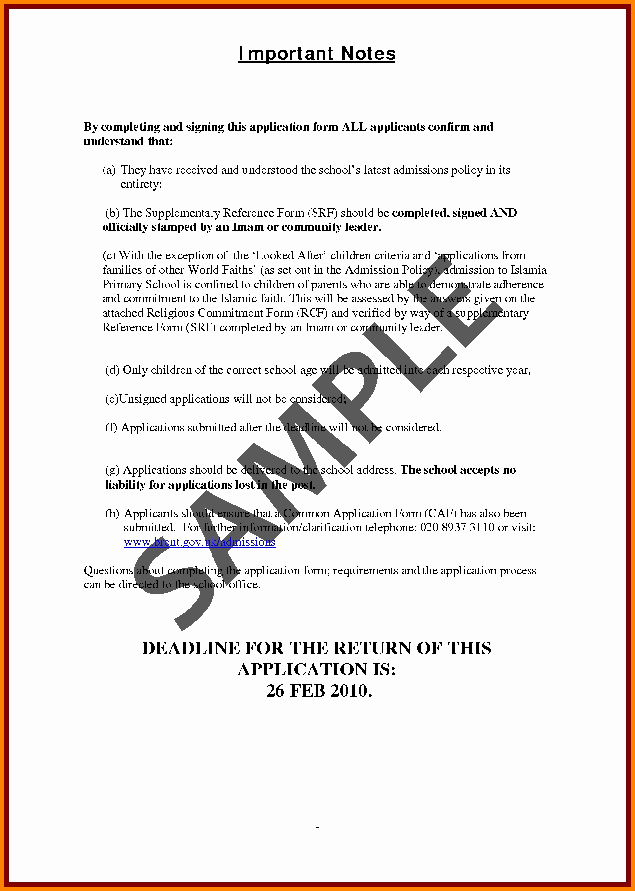 Reference Letters for College Admission Inspirational Sample Re Mendation Letter for Primary School Admission