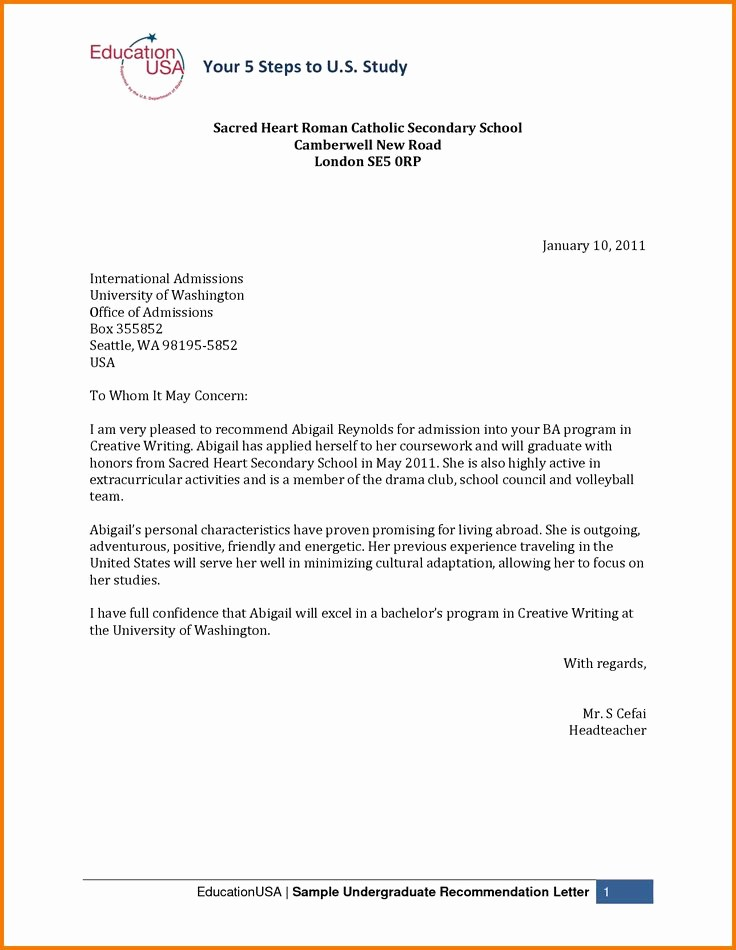 Reference Letters for College Admission Lovely 17 Best Ideas About College Re Mendation Letter On