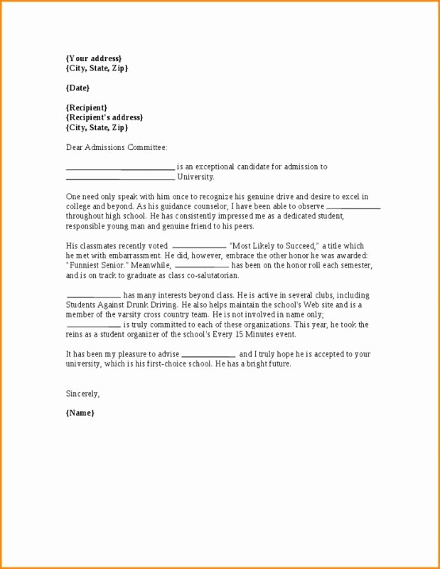 Reference Letters for College Admission New College Professor Cover Letter